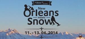 """""""New Orleans meets snow"""" heißt es demnächst in St. Anton..."""