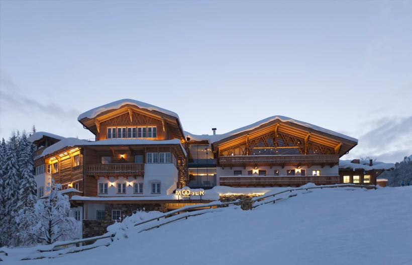 "Das ""Mooserhotel"" in St. Anton am Arlberg"